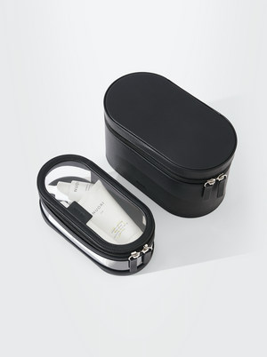 NUORI GETAWAY TRAVEL CASE SET 2-IN-1 - BLACK