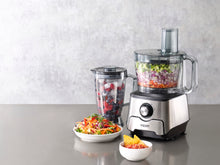 Load image into Gallery viewer, Steel Ribbon Seven-Speed Food Processor