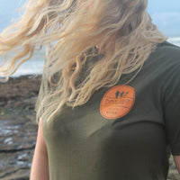 Khaki Organic Cotton Tee