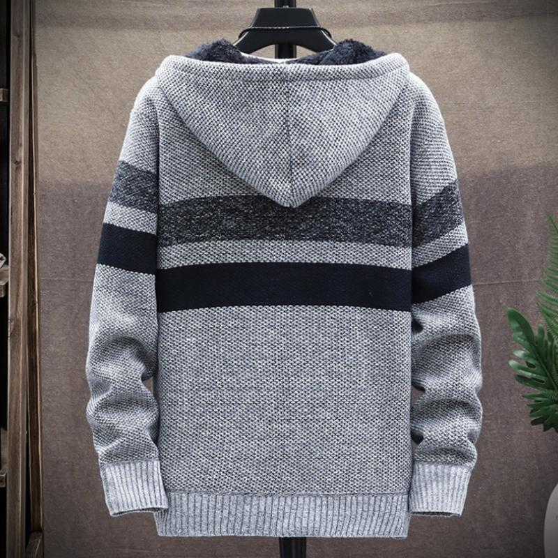 Luuk - Stijlvolle Warme Winter Cardigan