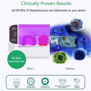 Multifunctional Mobile Phone UV Disinfection Box Portable USB  Sterilizing Trays Nail Aromatic Sanitizer Disinfection Cabinet
