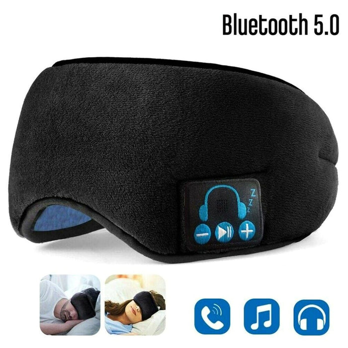 Bluetooth Wireless Earphones 5,0, eye patch, stereo sound, music, sleeping aid, eye protection, privacy, rest