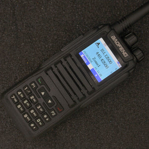Dual Band Two Way Radio Baofeng Digital DMR Ham Amateur Radio Station Transceiver DM-1701 Walkie Talkie Level 2 Dual Time Slot