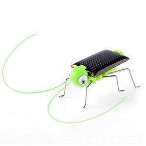 2019 Solar Grasshopper Educational Solar Powered Robot Toy No Batteries Needed