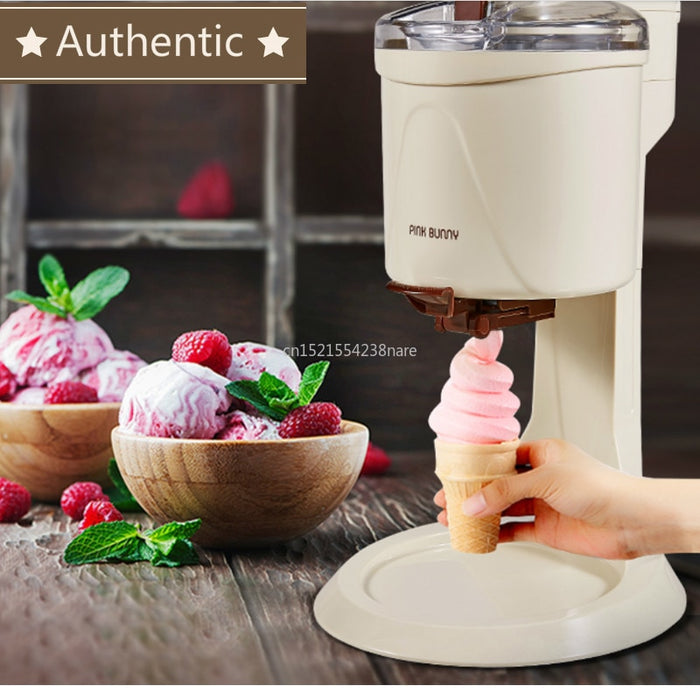220V Machine Icecream Fully Automatic Mini Fruit Ice Cream Maker For Home Electric DIY Kitchen