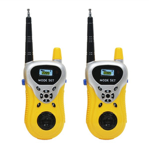 2pcs Mini Walkie Talkie Kids Toy Two-Way Radio-Transceiver Walkie-Talkie Portable Communicator Toys Gifts