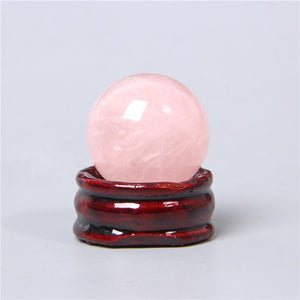 20 30 40 50 mm Natural Round Stone Quartz Sphere Amethysts Rose White Quartz