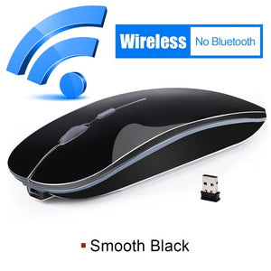 Rechargeable Mouse Wireless Mouse Bluetooth 4.0 Computer Mouse Silent PC Ergonomic Mice USB Optical Mause Rechargable for Laptop
