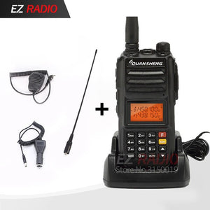Talkie Walkie 10 km Ham Radio Quansheng Upgrade TG-UV2 Plus talkie walkie 10 km Quansheng tg-uv2 powerful 10W walkie talkie 10km