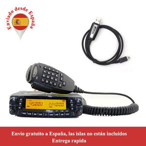 Latest version TYT TH-9800 Mobile radio 50W Quad Band 29/50/144/430MHz walkie talkie 2-Tone/5-Tone FM Transceiver