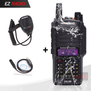 2020 Upgrade UV-9R Waterproof IP67 Walkie Talkie 10KM Baofeng UV-XR GT-3WP UV-5S UV-5R WP Long Range Radio UV-9R Plus Black