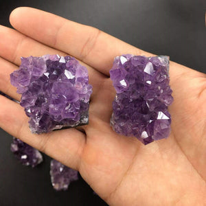10-20g Natural Raw Amethyst Quartz Crystal Cluster Healing Stones
