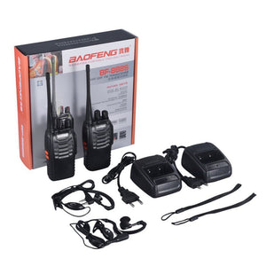 2 PCS Baofeng BF-888S Walkie Talkie 5W Two-Way Radio
