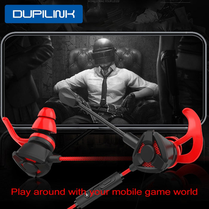 1.2m Wired Earphone Gaming Earbuds E-Sports Noise Cancelling