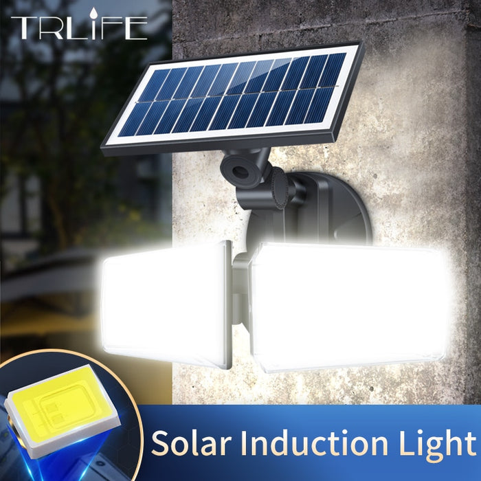 300W Solar Street Lights Outdoor Lamp 42 LEDs 8000lumens Indoor 80 COB Solar Lamp IP65 Waterproof