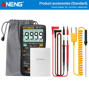 ANENG AN8009 Digital Multimeter Transistor Testers Capacitor True-RMS Tester Automotive Electrical Capacitance Meter Temp Diode
