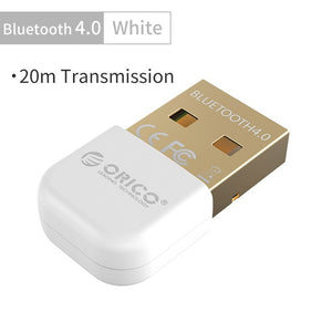 ORICO Wireless USB Bluetooth Adapter 4.0 Bluetooth Dongle Audio Receiver Adapter Bluetooth Transmitter for Computer PC Speaker