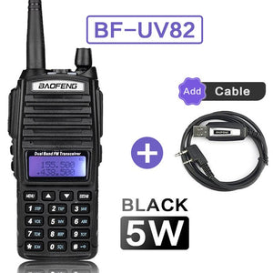 UV82 VHF UHF Transceiver Walkie-talkie Two Way Radio Talkie Walkie Ham Radio Comunicador uv-82 Baofeng uv 82 Walkie Talkie