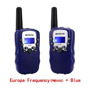 RETEVIS RT388 Walkie Talkie Kids 2pcs Comunicador Children's radio Distance 100-800M Walkie-talkies Birthday Christmas Gift