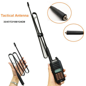 CS Tactical Antenna For Baofeng UV-9R Plus Waterproof Walkie Talkie VHF UHF 144/430Mhz UV-9R SMA-Female Foldable Antenna