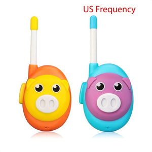 Retevis RB616 RB16 Walkie Talkie Kids 2PCS Cute 1 Channel Two Color Walkie-talkies Birthday Christmas Gift  Toy Walkie Talkie