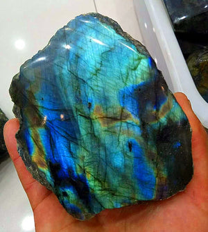 Labradorite Natural Stone Crystal Moonstone