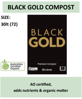 Black Gold Garden Compost 30L