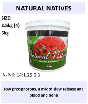 Grow Better Natural Natives Fertiliser