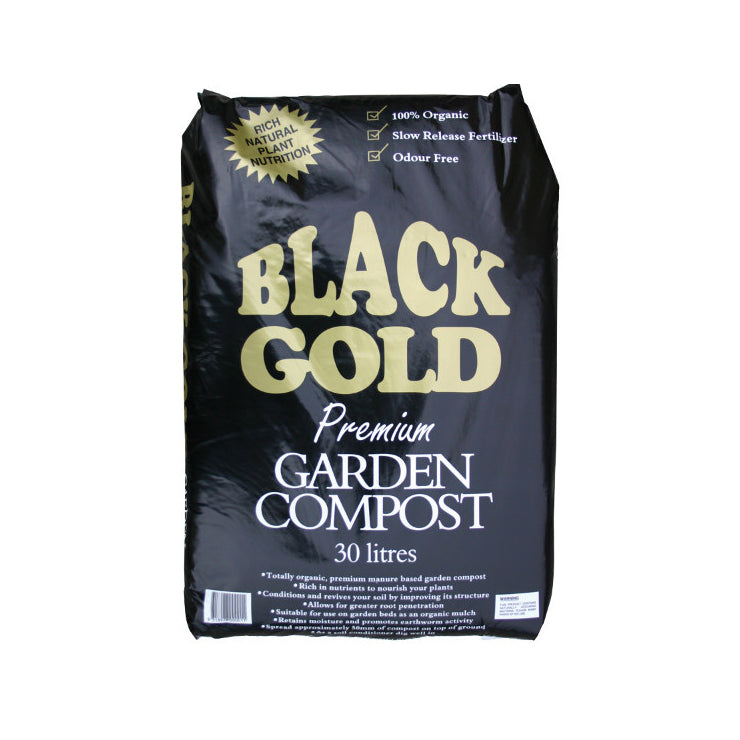 The Conservatory Bentleigh- Black Gold Compost - 30L -Melbourne