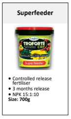 Troforte Superfeeder Controlled Release Fertiliser