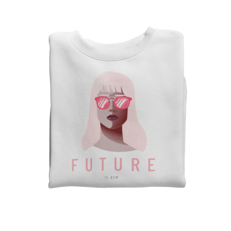 Sweatshirt <br> Future Is Now #1