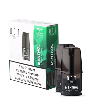 Menthol Dot Pro Pods Twin Pack by Liberty Flights