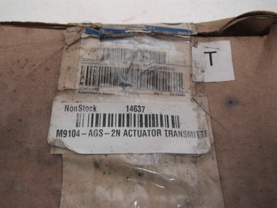 Johnson Controls Electric Actuator, 35 in.-lb., 35 to 125 M9104-AGS-2N