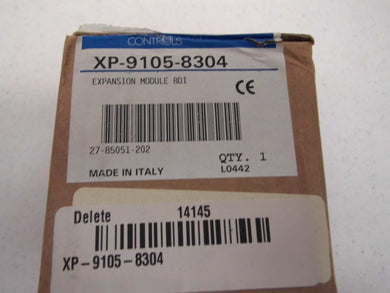 Johnson Controls METASYS EXPANSION MODULE 8IN BINARY XP-9105-8304
