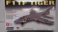 Load image into Gallery viewer, Lindberg F11F Tiger 1/48 Scale Model Kit #70504