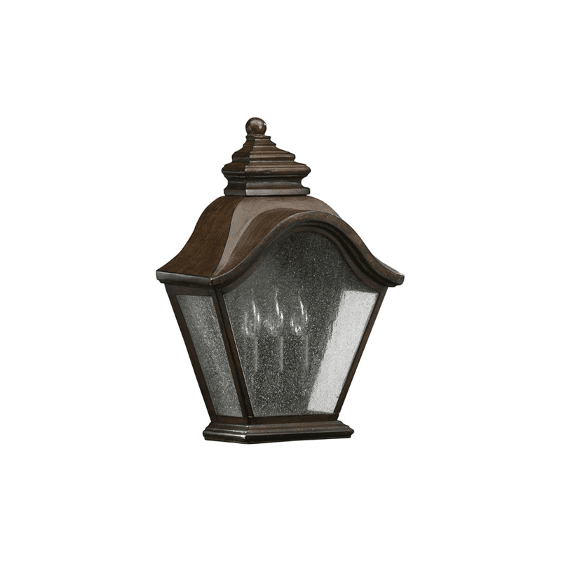 Quorum International 7450-346 Artisan's Grove Three Light Small Outdoor Wall Sconce from the Foxhall Collection