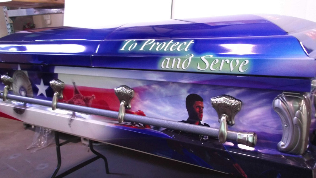 Law Enforcement Memorial Casket
