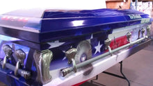 Load image into Gallery viewer, Law Enforcement Memorial Casket