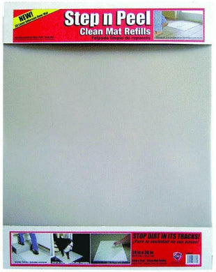 Surface Shields, Sticky Mat, Step N Peel, Clear, 30