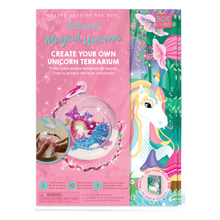 Load image into Gallery viewer, BOX CANDIY® Totally Magical Unicorns Create Your Own Unicorn Terrarium