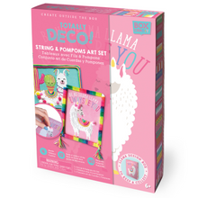 Load image into Gallery viewer, BOX CANDIY® Totally Deco! String & Pompoms Art Set