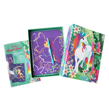 Load image into Gallery viewer, BOX CANDIY® Totally Magical Forest Scratch Art Set