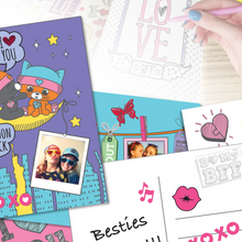 Load image into Gallery viewer, BOX CANDIY® Totally Friends! Create Your Own Postcards