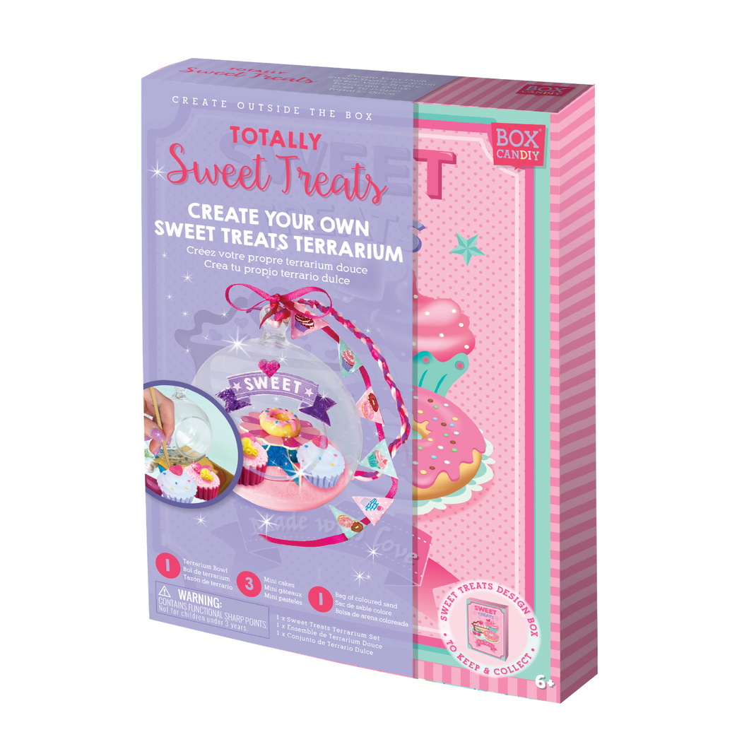 BOX CANDIY® Totally Sweet Treats Create Your Own Sweet Treats Terrarium