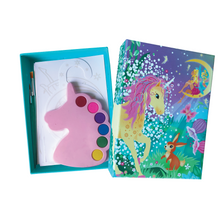 Load image into Gallery viewer, BOX CANDIY® Totally Magical Unicorns Watercolor Art Set