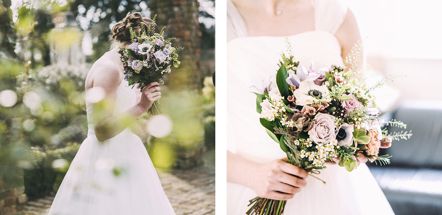 Custom wedding flowers, bridal florist north London, Mill Hill