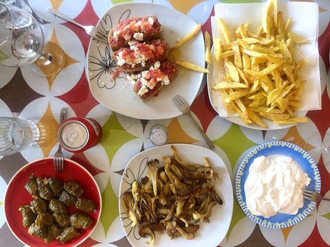 Dolmades recipe - extra virgin olive oil from Crete