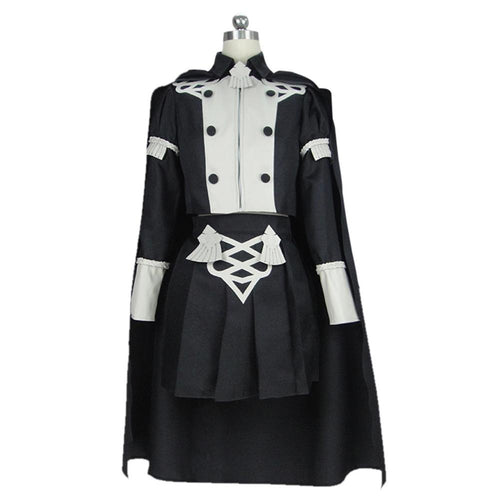Game Fire Emblem Three Houses Byleth Women Uniform Outfit Halloween Carnival Costume Cosplay Costume