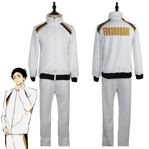 Haikyuu Fukurodani Academy Volleyball Uniform Outfits Halloween Carnival Suit Cosplay Costume