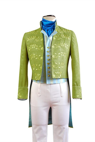 Cinderella  Film Prince Charming Attire Outfit Cosplay Costume